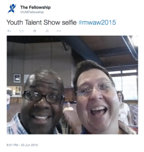 MWAW Youth Talent Show Selfie